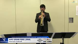 Jaime SORIANO PEREZ plays Kuku by B. Cockcroft #adolphesax
