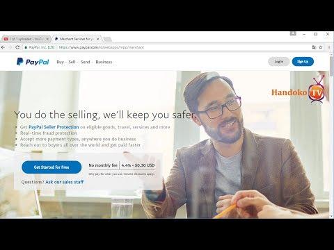 Video Cara membuat akun paypal tanpa kartu kredit ( Tutorial Lengkap )