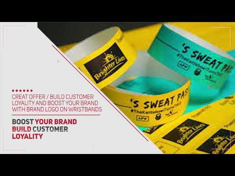 Wristband with your Brand Name