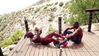 Ulisses Jr | Simeon Panda -  Cyprus Mountain Villa Workout / Seminar