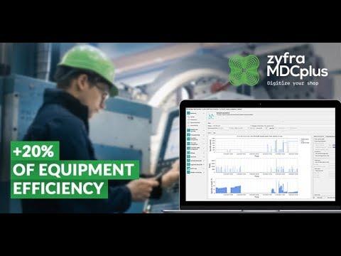 ZYFRA MDC Plus - Machine Data Collection Software
