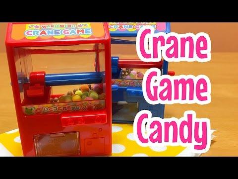 Crane Game Candy Machine ~ お菓子をゲット!クレーンゲーム (видео)