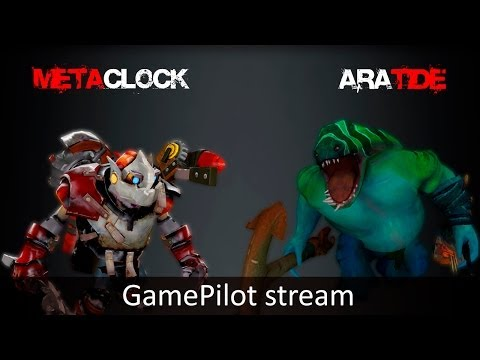 METACLOCK + ARATIDE 18.04 GamePilot Stream