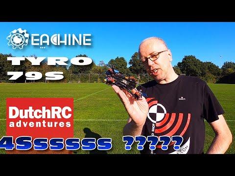 Testing the Eachine Tyro79S on 4S :)