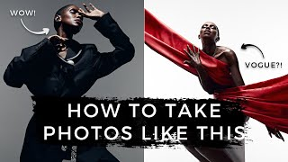 Studio Photography Behind The Scenes | How I Shoot Editorial Fashion & Portraits