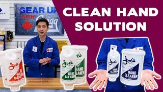 Joe's Hand Cleaner: The Best Waterless Hand Cleaner  - Gear Up With Gregg's
