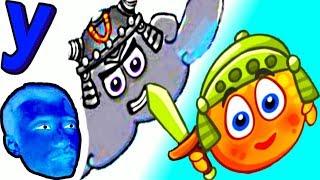 ПРоХоДиМеЦ и ЖЕЛТЫЕ Шарики АПЕЛЬСИНЫ против ТУЧИ! #307 ИГРА для ДЕТЕЙ - Cover Orange Путешествие