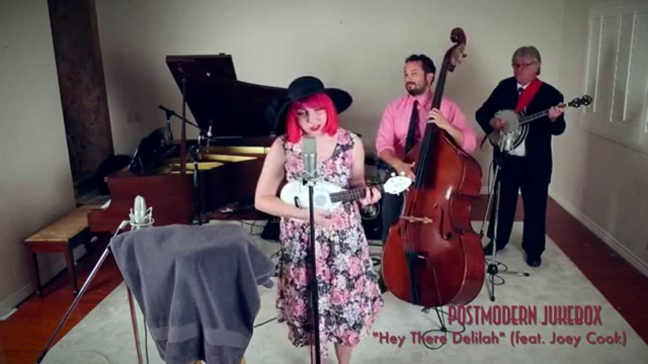 """Hey There Delilah – Vintage 1918 """"World's Fair"""" Style Plain White T's Cover ft. Joey Cook"""
