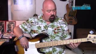Basic Blues Bass Line in E