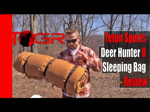 Inexpensive but Heavy – Teton Sports Deer Hunter 0 Sleeping Bag – Review