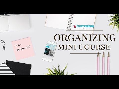 NEW! FREE Organizing Mini Course! - YouTube