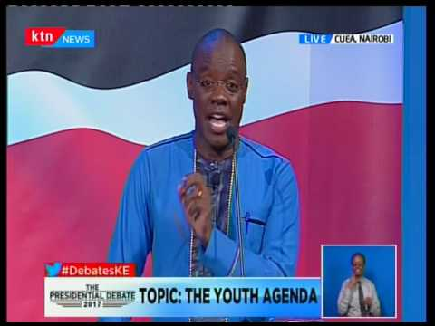 Presidential Candidate prof Michael Wainaina plans to bring a 50% youth representation