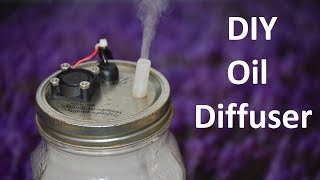 Homemade Essential Oil Diffuser How To ~ A DIY Oil Diffuser Anyone Can Make