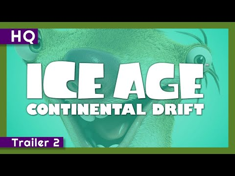 Video trailer för Ice Age: Continental Drift (2012) Trailer 2