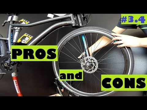 the pros and cons of bicycle Pros & cons of bicycling by max roman dilthey as the number of cyclists increases, awareness of the benefits and risks becomes significantly more important for new cyclists and drivers.