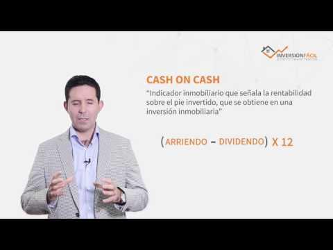 ¿Qué significa el indicador CASH ON CASH?