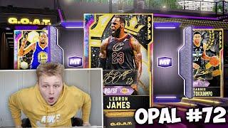 I PULLED The *NEW* GOAT Lebron James!! INSANE GUARANTEED GOAT Pack Opening!! NBA 2K20 MyTeam