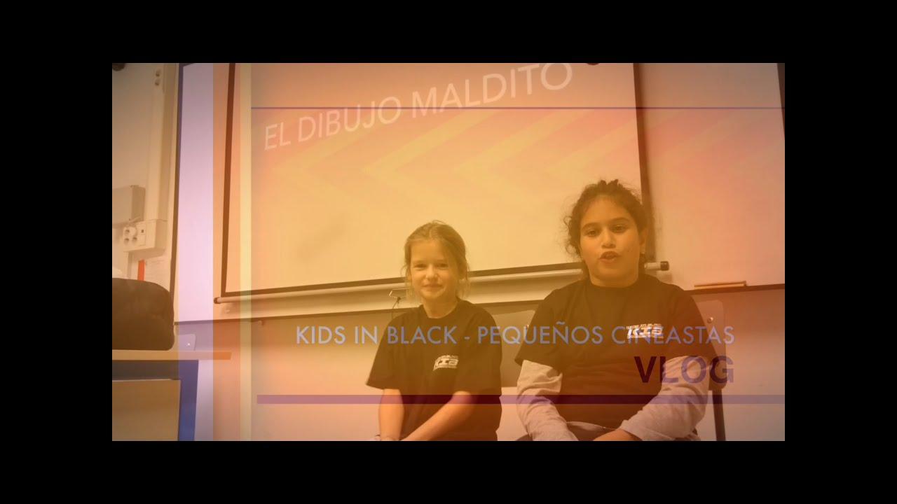 Teaser - KIB VLOG - El Dibujo Maldito - Noticias Terribles - Comentarios - Kids In Black