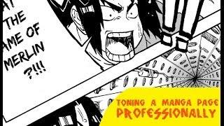 Screen Tone a Manga Page Professionally in Manga Studio 5