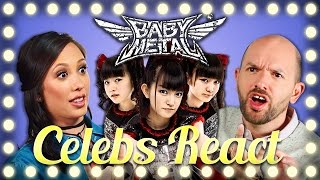 CELEBS REACT TO BABYMETAL