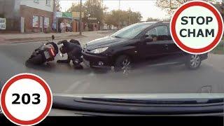 Stop Cham #203 - Niebezpieczne i chamskie sytuacje na drogach