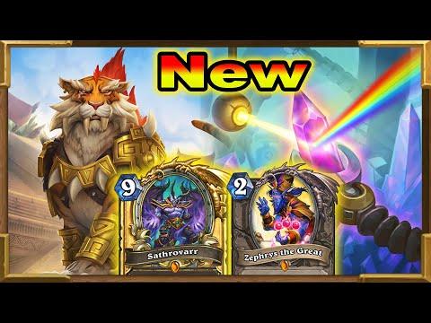 Hearthstone: New Triple Shirvallah Combo Sathrovarr | 50 Damage OTK | Descent of Dragons New Decks