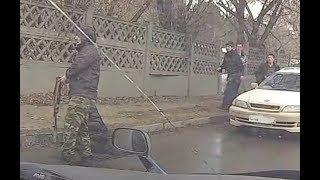 Беспредел на дороге - вооружены и очень опасны