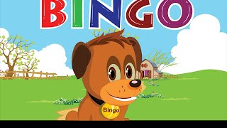 Bingo Dog Song   FlickBox Nursery Rhymes With Lyrics | Kids Songs | Cartoon Animation For Children
