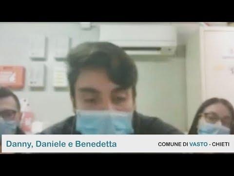 Servizio Civile Anci: Danny, Daniele e Benedetta – Comune di Vasto