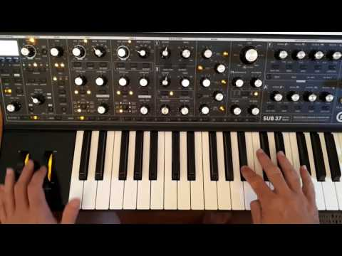 Moog sub 37 - Funk - West Coast