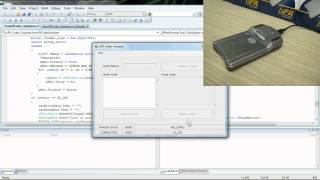 RFID NFC and MIFARE® programming - Visual C# (Windows) source code