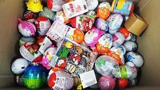Surprise Eggs UnBoxing Kinder Surprise Toy and Kinder Joy Fun Video