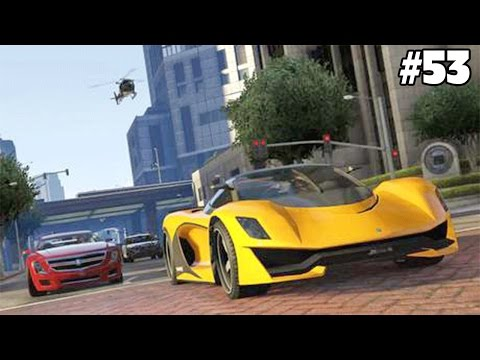 GTA 5 - STEALING AWESOME SPORTS CARS! #53 Grand Theft Auto 5 Funny Moments