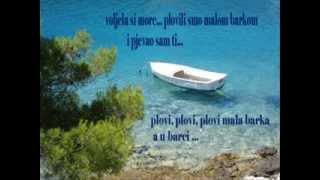 klapa Zadarska LANTRNA, Plovi mala barka,