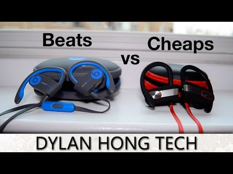 Beats VS Cheaps:  $200 Earbuds Compared to Cheap $20 Knockoffs! [Budget Tech] 2016