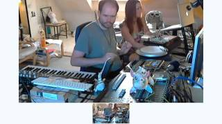 Klartraum - Live electronic jam in the studio 2012