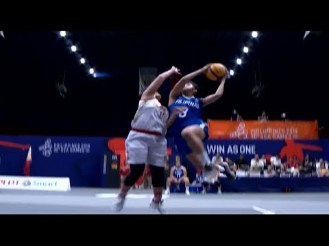 Highlights: Philippines vs Indonesia | 3X3 Basketball W Prelim Round | 2019 SEA Games