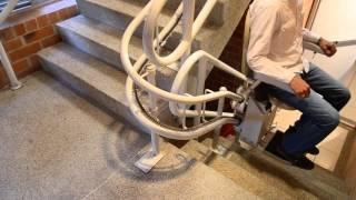 Silla Sube Escaleras - Trayectos Curvos