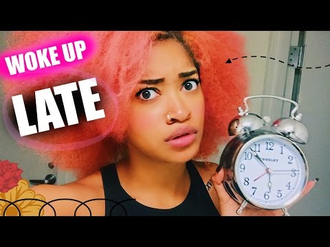 I WOKE UP LATE FOR SCHOOL! Morning Routine & Tips | Bri Hall