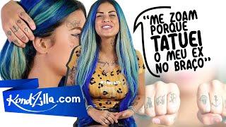 """Tatuagem dos MCs com a Tati Zaqui – """"Essa é para os meus Fãs"""""""