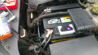 2014 - 2017 Chevy Impala battery replacement