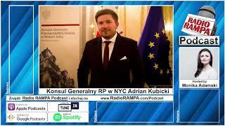Konsul Generalny RP w NYC o pracy konsulatu w obliczu epidemii koronawirusa