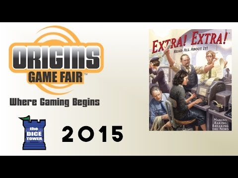 Origins Summer Preview: Extra! Extra!