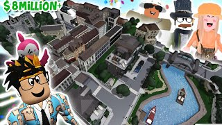touring the BIGGEST BLOXBURG CITY EVER... this is insane