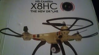 SYMA X8HC unbox & whats NEW ON IT !!!! ITS FASTER !!!!!