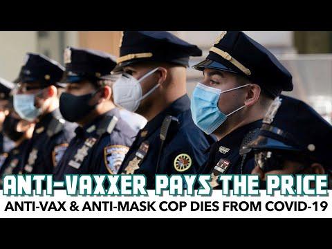 Anti-Vax Cop Dies From COVID-19