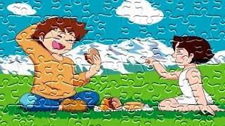 Heidi Puzzle Games For Kids