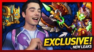 """Knights and Dragons - EXCLUSIVE """"NEW"""" SEPTEMBER LEAKS!! Egyptian Chests, Season 14 Shadowforged!"""