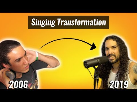 my 13 year singing transformation