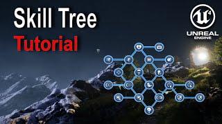 Unreal Engine - Skill Tree Tutorial (1/3)